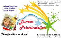 Gradinita si cresa Lumea Prichindeilor din Sibiu (Turnisor)