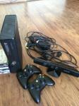 Vand Xbox 360 Kinect + jocuri