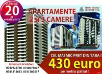Apartamente de la 430 euro/mp