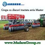 Grapa cu discuri tractata seria Master BD-048, Madara Group