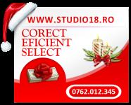 Salariu maxim plus comision! Aplica http://www.studio18.ro