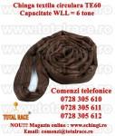 Chinga textila ridicare circulara  6 tone 3 metri