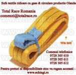 Chingi textile, Dispozitive si echipamente de ridicare