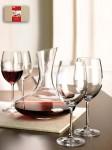 Set WINEBAR – 4 pahare vin din sticla, carafa