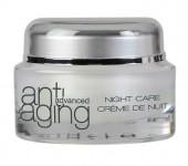 Crema antirid cu coenzima Q 10 si colagen Anti-aging Advanced de noapte Dr. Temt
