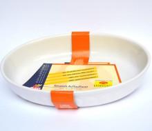 Vas din ceramica termorezistenta Burgund oval 32 cm