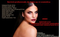 Servicii profesionale de make-up si cosmetica