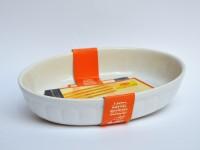 Vas oval din ceramica termorezistenta, 27 cm