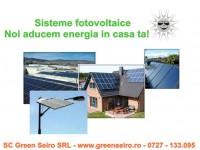 Vand sisteme panouri fotovoltaice la cheie