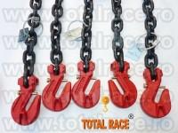 Lanturi de ancorare cu intinzator pentru incarcaturi grele