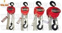 Palane manuale cu lant pentru instalare echipamente