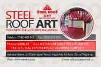 Fabrica de tigla metalica STEEL ROOF ARTUS (produs finlandez)