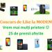 Concurs de Like MODEM e1