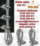 Bride zincate cablu tractiune