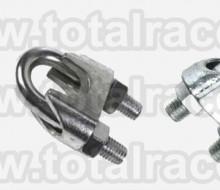 bride cablu turnate DIN741 brida zincata bride fixare accesorii cablu tractiune