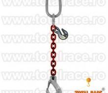 dispozitiv lant 1 brat carlig siguranta scurtator Clevis gr 100 trg
