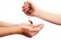 Oferta de împrumut între grave fizice