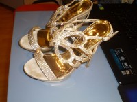Sandale 37 cu strasuri