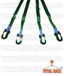 Dispozitive de ridicare din chingi cu 4 brate