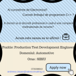 Production Test Development Engineer